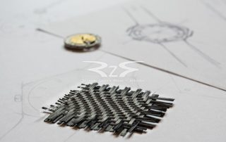 Carbon fiber watch movement