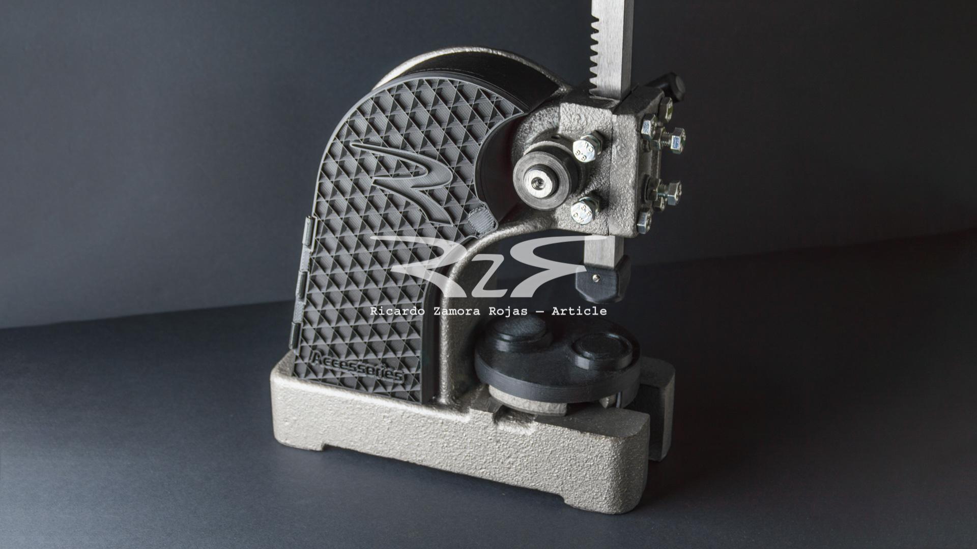 Custom watch press